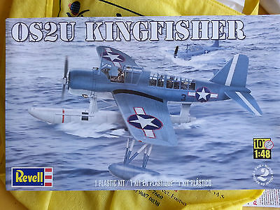 Vought Kingfisher OS2U model kit in 1/48 scale by Revell + extra - Builders kit