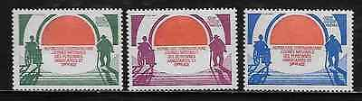 Central Africa International Year of Handicapped Persons 623-25 Mint NH