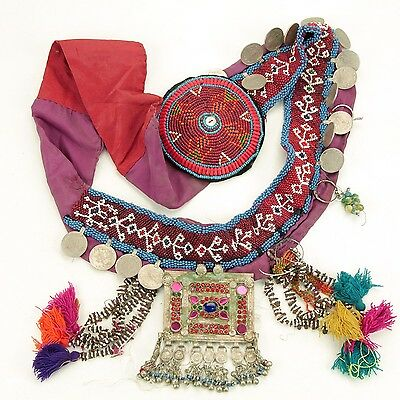 Kuchi Tribe ATS Bellydance Tribal Dangles BELT 867x8