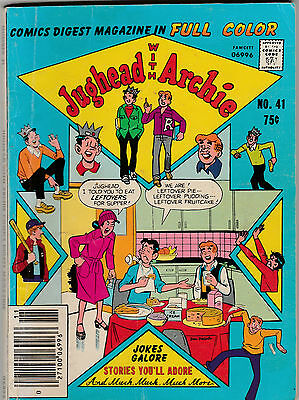 Vintage 1980 Jughead with Archie Comic Book Digest #41