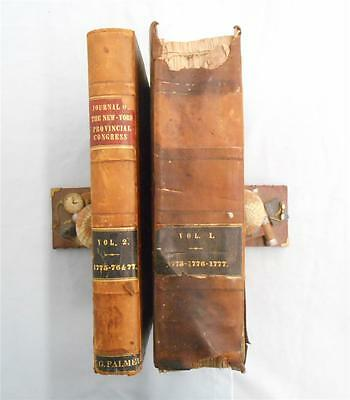 Journals of the Provincial Congress,1775 Convention New York State 2 Vols,1842
