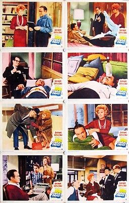 CRITIC'S CHOICE Lucille Ball LOBBY CARD SET OF 8 original 11x14 from 1963
