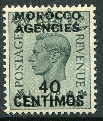 BRITISH OFFICE MOROCCO # 87 VF Never Hinged Issue - KING GEORGE VI - S5849