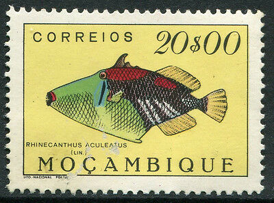 MOZAMBIQUE #353 MNH - Fascial Damage AS IS!  RHINECANTHUS FISH ~ S5502