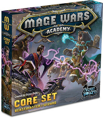 Mage Wars Academy - Board Game - New