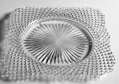 Westmoreland ENGLISH HOBNAIL CLEAR (ROUND BASE) Square Dinner Plate 4505492