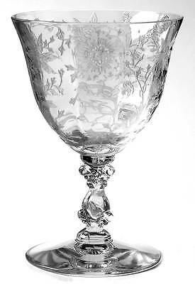 Cambridge WILDFLOWER CLEAR Oyster Fruit Cocktail Glass 48648