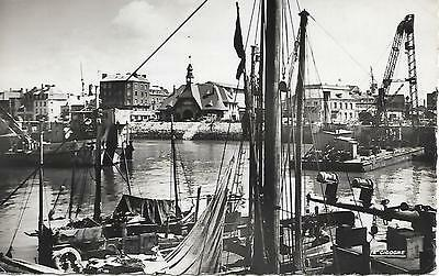 Dieppe, The Quay - Posted Postcard, 1950