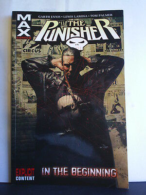 GRAPHIC NOVEL: THE PUNISHER - IN THE BEGINNING - Paperback 2005 2nd print