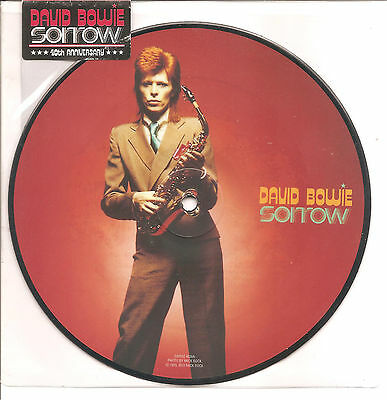 "David BOWIE ""Sorrow"" 40th Anniversary 2012 Vinyl Picture 7"" single"