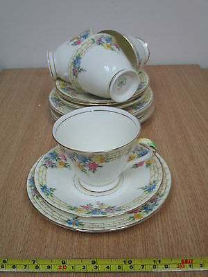 Vintage 1940's? Tuscan China 'PLANT' 12-Pc Tea Set