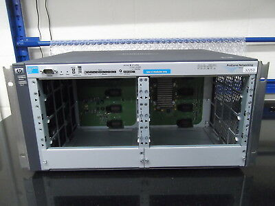 HP ProCurve Switch 4208vl 8 Opens Slot Switch Chassis HP J8773A With  2 X PSU