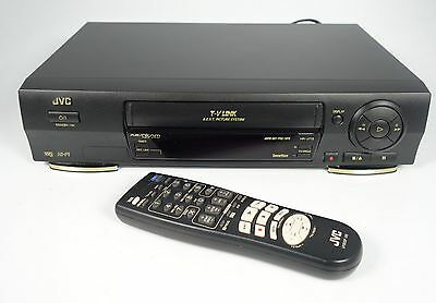 Jvc Hr-J713 Vhs Recorder Video-Recorder Mit Fernbedienung ##