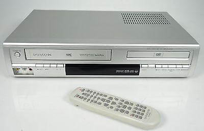 Daewoo Sg-9200E 6-Head Vhs Videorecorder / Dvd Player + Fernbedienung +++