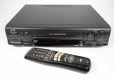 Jvc Hr-J438 Vhs Recorder Video-Recorder Mit Fernbedienung ##