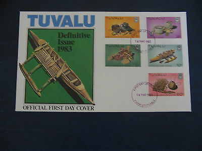 Tuvalu 1983 Definitive Issue   FDC #2