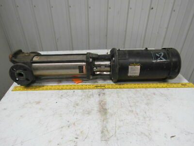 Grundfos CR5-14 UK-FGJ-A-E-HQQE Vertical Multistage Centrifugal Pump 1-1/4X 1-1/