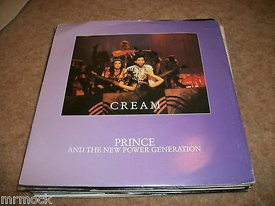 "Prince- Cream Vinyl 7"" 45Rpm Ps"