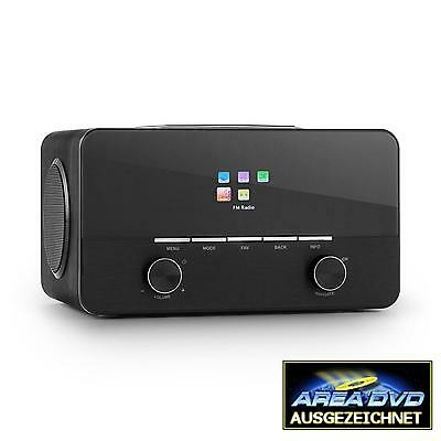 [Occasion] Radio Internet Multimedia Auna Connect 150 Wifi Fm Mp3 Dab/dab+ Noir