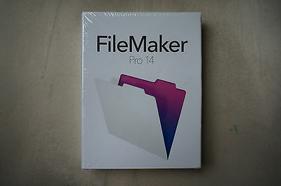 Filemaker Pro 14 Neuf Sous Cellophane