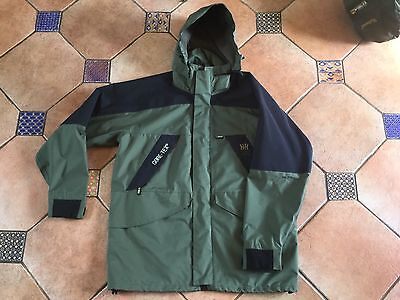 Halkon Hunt Green/Black Waterproof and Breathable Goretex Fishing Jacket