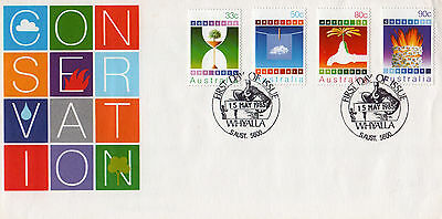 Australia Fdc-1985 Conservation
