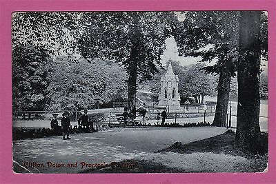 Dated 1909.  Clifton Down and Proctor's Fountain, Bristol.