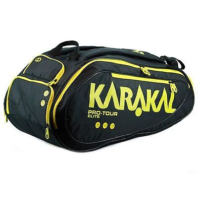 Karakal Pro Tour Elite 12 Racket Bag For Tennis Squash Badminton