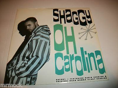 "Shaggy- Oh Carolina Vinyl 7"" 45Rpm P/s"