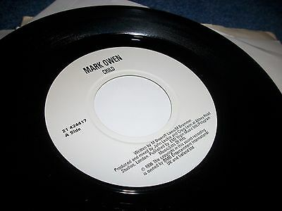 "MARK OWEN- CHILD VINYL 7"" 45RPM p"