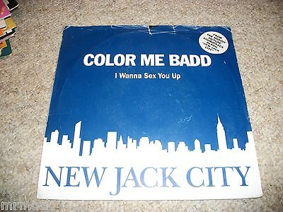 "Color Me Badd- I Wanna Sex You Up Vinyl 7"" 45Rpm P/s"