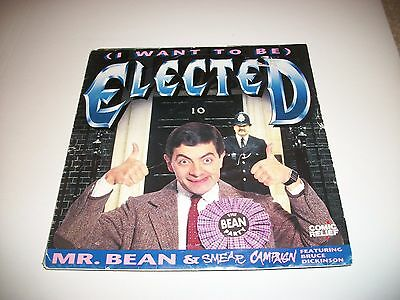 "Mr Bean- Elected 7"" Vinyl 45Rpm Ps"