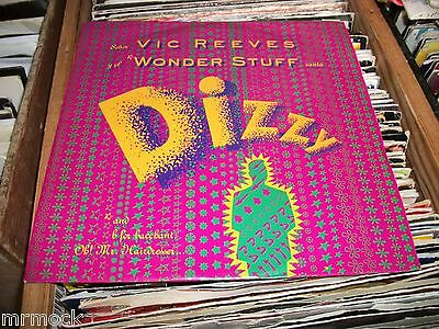 "Vic Reeves & Wonderstuff- Dizzy Vinyl 7"" 45Rpm P/s"