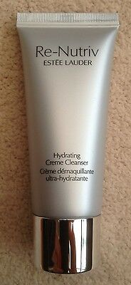 New 30ml Travel Size Re-Nutriv Hydrating Cream Cleanser By Estee Lauder