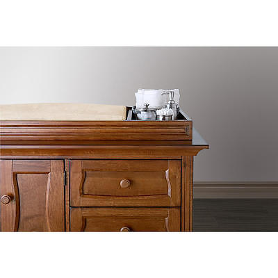 Eco Chic Baby Clover Changing Topper - Hickory