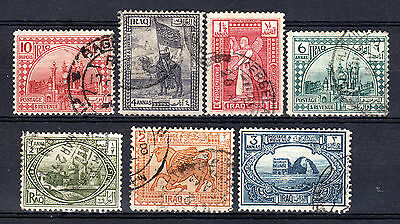 Iraq Irak 1923 Selection Of Used Stamps