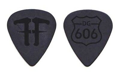 Foo Fighters Dave Grohl Black Guitar Pick - 2011-2012 Wasting Light Tour