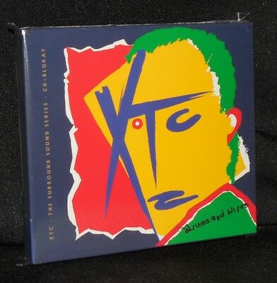 Xtc Drums & Wires 2014 Deluxe Edition Cd & Blu-Ray Audio 5.1 Stereo New Ss