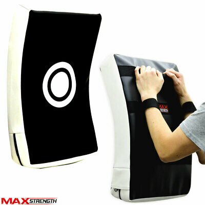 MAXSTRENGTH Strike Shield Kick Boxing Punch Training Large Arm Curved Focus Pads