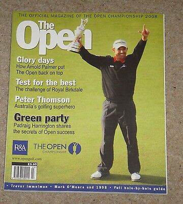 The Open – 2008 – Official Magazine of the British Open Golf Championship