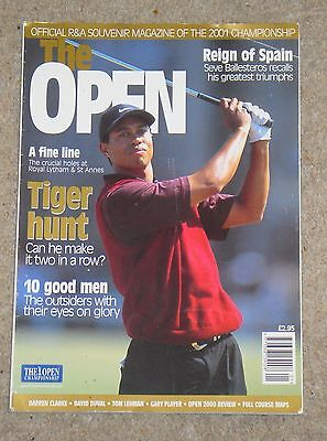 The Open – 2001 – Official Magazine of the British Open Golf Championship