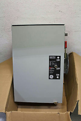 General Electric Safety Switches, TC Series (TC35363R) 100 AMPS, 600 VOLTS