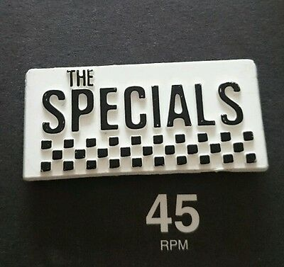 WALT JABSCO THE SELECTER BEAT SPECIALS MADNESS two 2-tone ska MOD PATCH BADGES