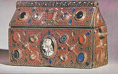 Luxembourg - Abbey of St. Maurice, Clervaux - Jewelled Box - Unposted Postcard