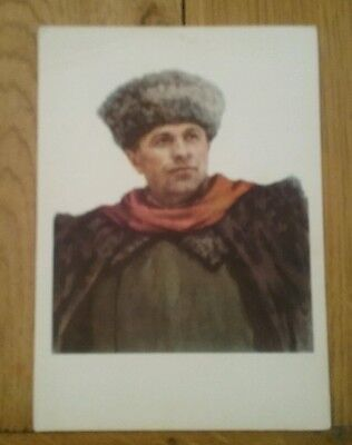 military postcard of a Russian General or a Russian Hero