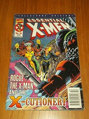 X-Men Essential #41 Marvel Uk Comics 9Th December 1998