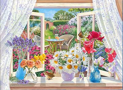 The House Of Puzzles - 250 BIG PIECE JIGSAW PUZZLE - Summer Breeze