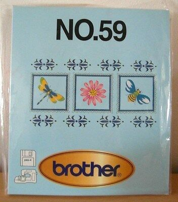 Brother / Babylock Embroidery Design Card Number 59 New And Sealed - Floppy Disc