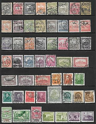 HUNGARY - Interesting and Diverse Mint and Used Issues Selection (Dec 0438)