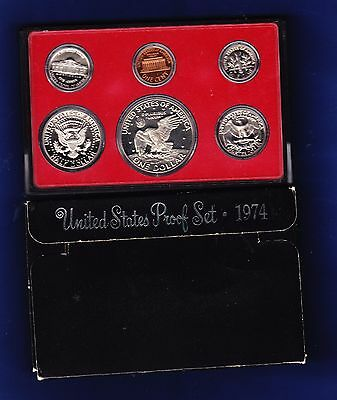 1974 United States Proof Set (6-coin Set)
